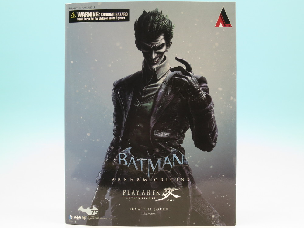 Play Arts Kai Batman Arkham Origins Joker Action Figure ...